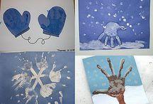 winter crafts / by Leslee Bridgmon