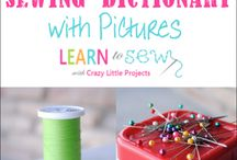 Learning to Sew / by Jenny Levatino