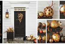 Fall decorating / by Jo