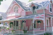 pink house / by Suzy Tidwell