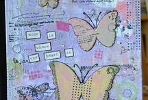 Art Journaling/ She Art/ Mixed media / by Sara Hugosson