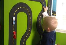 decor - boys room cars/trains / boys' room with cars & trains / by Jayme M