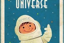 Space Room / by Julie Litchfield Borchert
