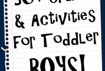 Toddler activities / by Elise McIntosh