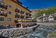 Le Miramonti Wellness Hotel in La Thuile - Aosta Valley - Italy / One of a kind by ALPISSIMA™ Mountain Hotels / by Alpissima Mountain Hotels