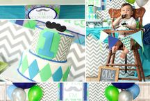 Little Man Party Ideas - Mustache Bash / by Kara Abrahamsen Lillian Hope Designs