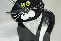 Cats, cats and more cats! / Is there anything cuter than the cat? Or a cat-themed item? / by Becky Robinson