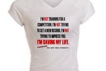 Let's Get Physical / Whether you love running, crossfit, power lifting or pilates, we've got custom gear to make a statement while getting fit.  / by CafePress
