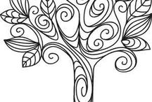 Coloring pages / by Victoria Stevens