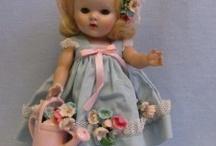 vintage dolls / by Melissa Nicol