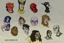 Personajes / by Diego Paut R