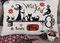 Cross Stitch- Halloween/Fall / by Kimberly Hart