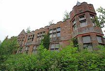 Abandoned Hospitals and Nursing  Homes / by Lisa King
