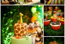 Jungle Animal Baby Shower Theme / Inspiration for Jungle Animal baby shower themes / by The Baby Shower Shop