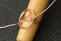 Wire wrapping jewelry / by Yarn Hookers.com