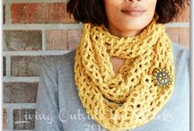 In the Craft Room ~ Yarn  / Crochet ideas and tutorials / by {Living Outside the Stacks}