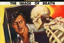 Pulp Frisson / During the heyday of fiction magazines, cover artists were challenged to come up with novel ways to make the magazine stand out in an overcrowded newsstand. Sometimes that led to some pretty odd artistic choices. / by Ralph Graves