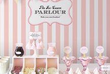 Ice Cream Birthday Party Ideas / by My Fancy Princess -