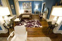 apartment living room design inspiration / by Caroline Lau