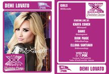 Girls Baseball Card Gallery / Demi's girls are working hard to make it to the top! Collect all of the contestant cards and build your perfect team today! Who would be in your top 4? / by The X Factor USA
