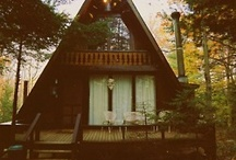 I want an Aframe house! / by Kimberly Klein