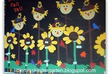 Preschool Bulletin Boards / by Christy Price
