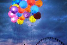 Amusement parks & ferris wheels / by mara_amy
