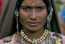 """Romany or Gypsy Life / The Romany people have been interesting to me since I lived in Europe.They were maligned & even enslaved in Eastern Europe until 1868.They have had every reason to distrust gaje' (non-Rom) so lived on the """"fringes"""" of greater societies in which they travel.Yet,their livelihoods are made from their dealings with gaje'.Their language,Romani,is a derived from  ancient Sanskit as they came from India 1500 years ago.They belong to different groups:Sinti; Kalderash;Gitano;Manouches; Cales;& Romas. / by Gabrielle Peak"""