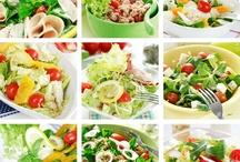 scrumptious salads / by Judy Escalon