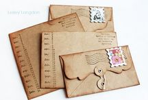 GREETING CARDS, LETTERS AND MORE / by Joni Robbins