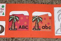 Things for Teaching ABC/123  / by Rachel Schultz