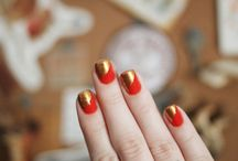 Nail Art / From Nail laquers to different manicures. Everything nail artsy. / by Katelyn Cancienne