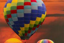 Hot air balloons / by Angela Allen