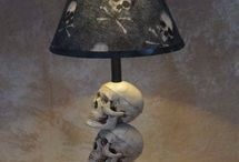 Skulls / I don't know what attacks me to the skull or look but it does! What can I say I love them!  / by Tammy Selvey Selvey