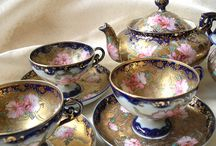 ❤ Tea Time ❤ ~ with Collections of Glorious Finds / by ✿⊱╮♥❤♥ Denise Jackson ✿⊱╮♥❤♥