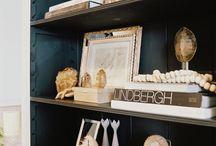 Bookcases / by Courtney @holdingcourtblog