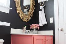 Bathroom makeover / by Lisa Janker Santiago
