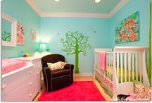 Colorful Kids Rooms / Color Inspiration for Kid's Rooms! Think beyond the traditional pink or blue for children's rooms and nurseries. Additional cheerful or youthful colors can be used to create a space for kids! Create a room for kids to have a space of their own, that reflects their unique, fun taste in color! / by PPG Voice of Color