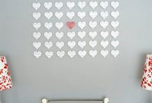 recycled: HEARTS / I've loved hearts as long as I can remember...and I love them even more when they are recycled and repurposed! / by re.Create Design