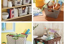 Clutter Busters / Better Homes and Gardens bins and baskets are stylish, offer nearly unlimited storage potential and are available at Walmart! / by BHG Live Better