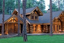 Dream Home / A sampling of rustic and awesome homes and home decor that I would love to have my own home based on someday. / by Stephanie Woodland