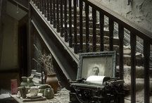 ۞ Interiors ۞ / pictures of the interiors of homes and different places ....I have a facination of seeing the insides of homes from long ago...  / by Denise