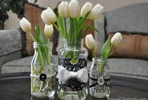 Mason Jars are Awesome / Who ever thought of the many things you could do with simple ole Mason Jars....I love them all of a sudden!! / by Maryia Webb