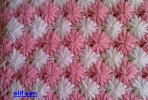 crochet / knit AFGHANS N SQUARES / by Marie Sacco