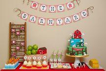 birthday party ideas :) / by Tori Johnson