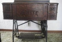 """Treadle sewing / Old treadle machines like my Mother's """"White"""".. / by Ruby Bradley"""