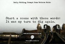 Write, write, write / by Fabiola Meza