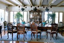 dining room / by Gayle Bourland