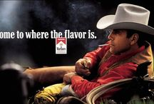The Marlboro Man / by Brand Stories on Pinterest