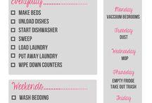 Organizing my life / by Kreshelle Chad Marquis